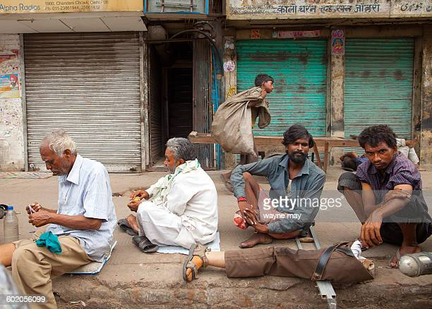 Indian medical volunteers have set up roadside clinics in Old Delhi to help treat the homeless which also includes free medication The Sikh charity...