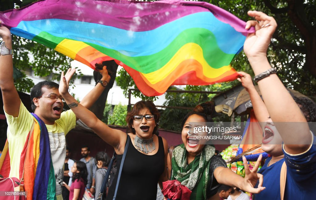 INDIA-COURT-HOMOSEXUALITY-RIGHTS : News Photo