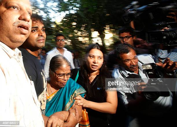Indian Merchant Navy Captain Sunil James who was released from Togo jail with his wife Aditi and mother at their residence in Malad on December 20...