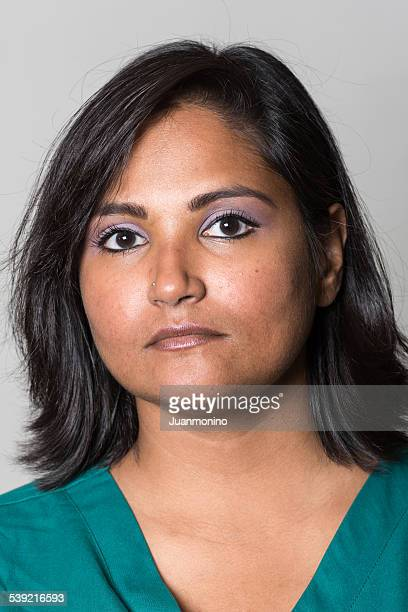 indian mid adult woman - blank expression stock pictures, royalty-free photos & images