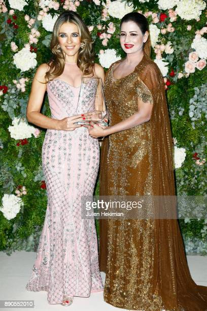 Indian millionaire Sudha Reddy and Support of 'Breast Cancer Research Foundation' and actress Elizabeth Hurley attend Indian millionaire Sudha Reddy...