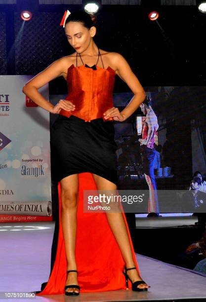 Indian Model part in the A Fashion Show on December 222018 in KolkataIndia