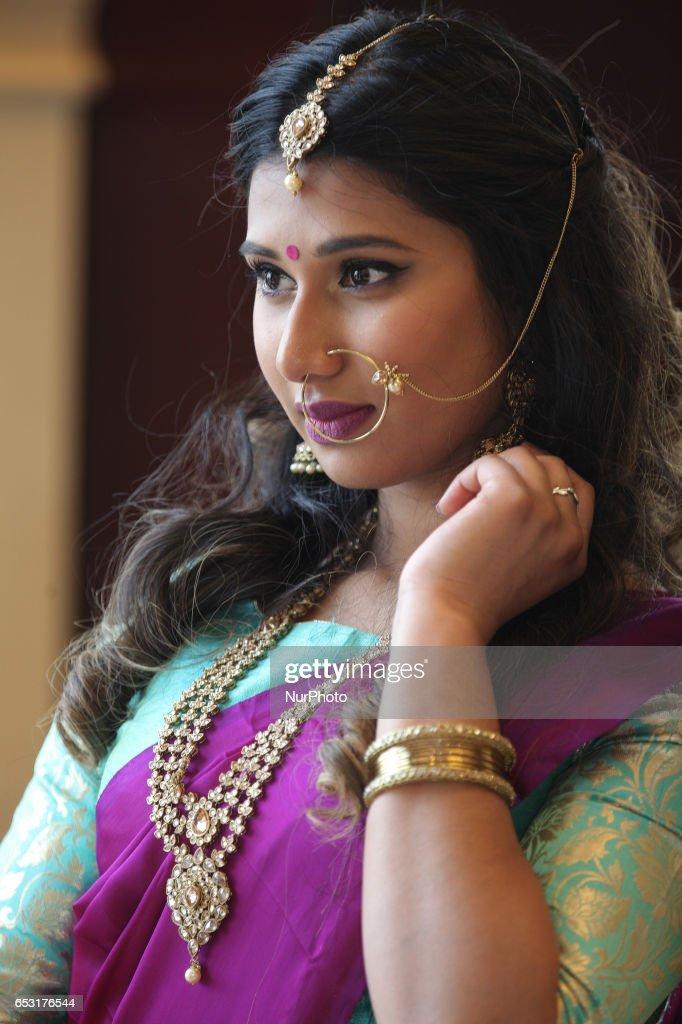 South Asian Bridal Show : News Photo