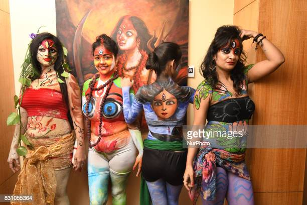 Body Painting Show >> 60 Top The Live Body Painting Art Show In Kolkata Pictures Photos