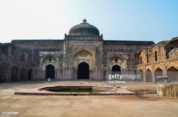 Indian Monuments: Khair-ul- Manazil Mosque (opposite Old Fort)
