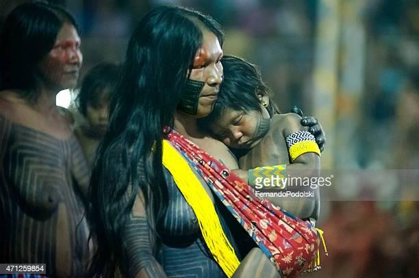 Indische Mutter