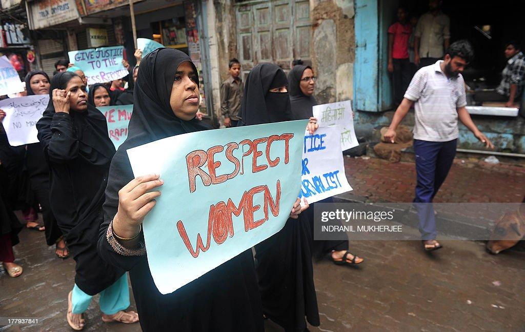 INDIA-CRIME-RAPE-PROTEST : News Photo