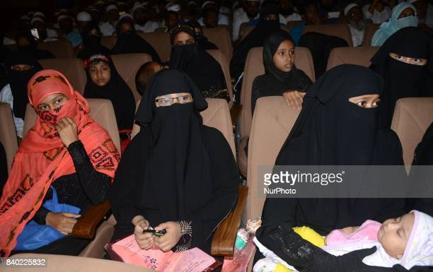 Indian Muslim Women participates in the protest programme of JamatUlemaEHind against verdict of supreme court to stop Triple Talaq system nationwide...