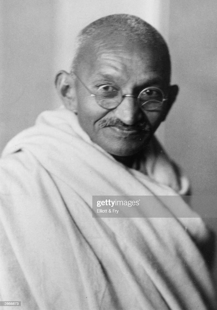 Mahatma Gandhi : Fotografía de noticias