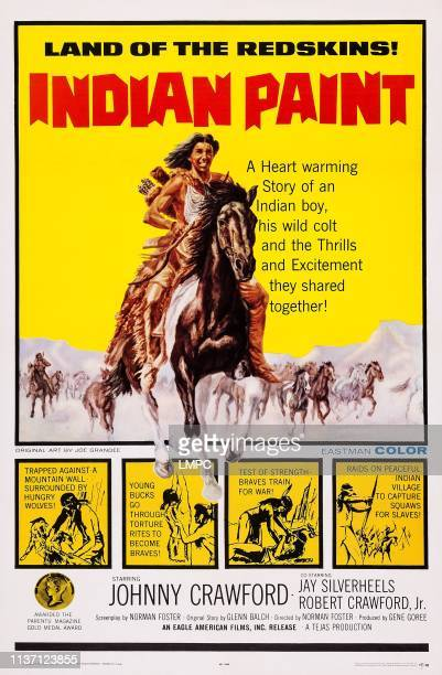 Indian Paint poster US poster art Johnny Crawford 1965