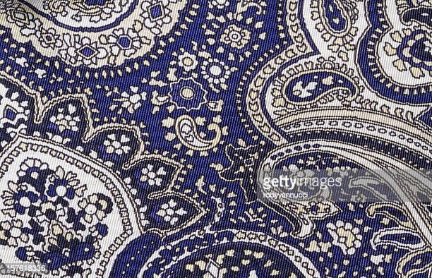 Indian paisley motif background