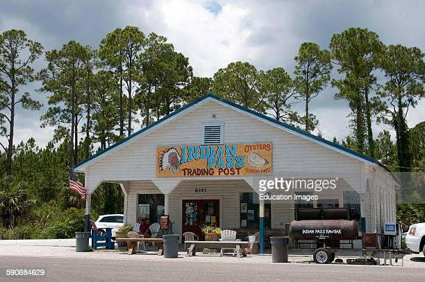 Indian Pass Trading Post famous for it's oysters near Apalachicola Florida USA