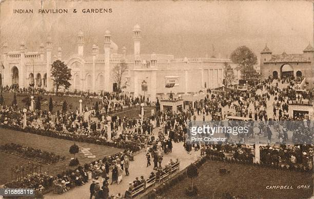 Indian Pavilion Gardens' circa 1925 The British Empire Exhibition was a colonial exhibition held at Wembley Middlesex in 1924 and 1925 The India...