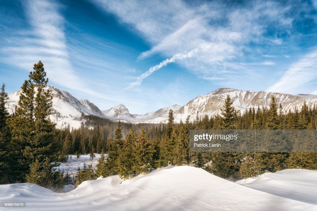 Indian Peaks Wilderness, Colorado : Stock Photo