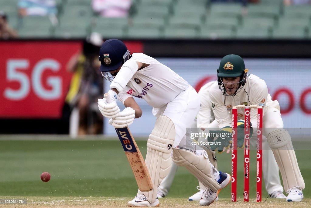 CRICKET: DEC 27 Australia v India - Second Test : News Photo