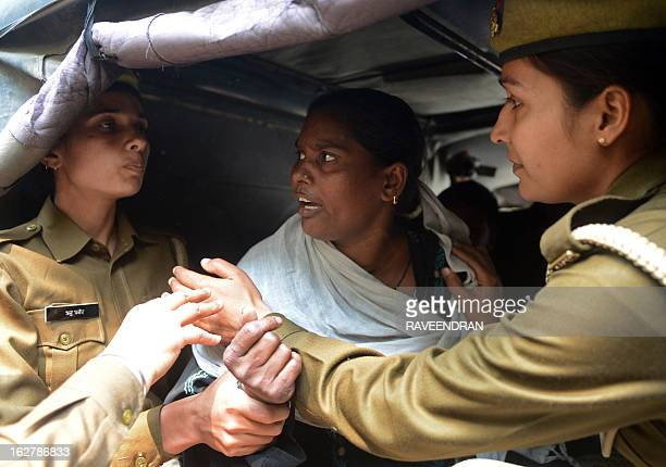 Indian police arrest Fathima after her attempt to selfimmolate in protest against alleged police inaction following the gangrape and killing of her...