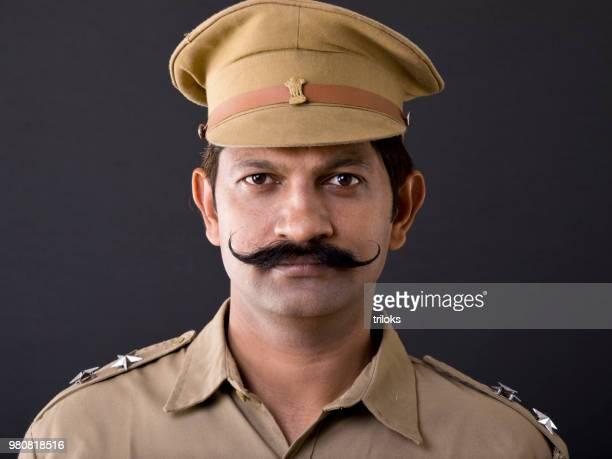 Indian Police man in uniform