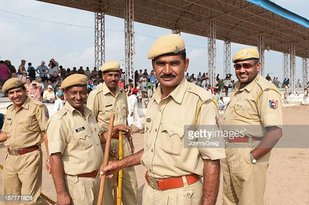 Indian Policeman at Pushkar Fair