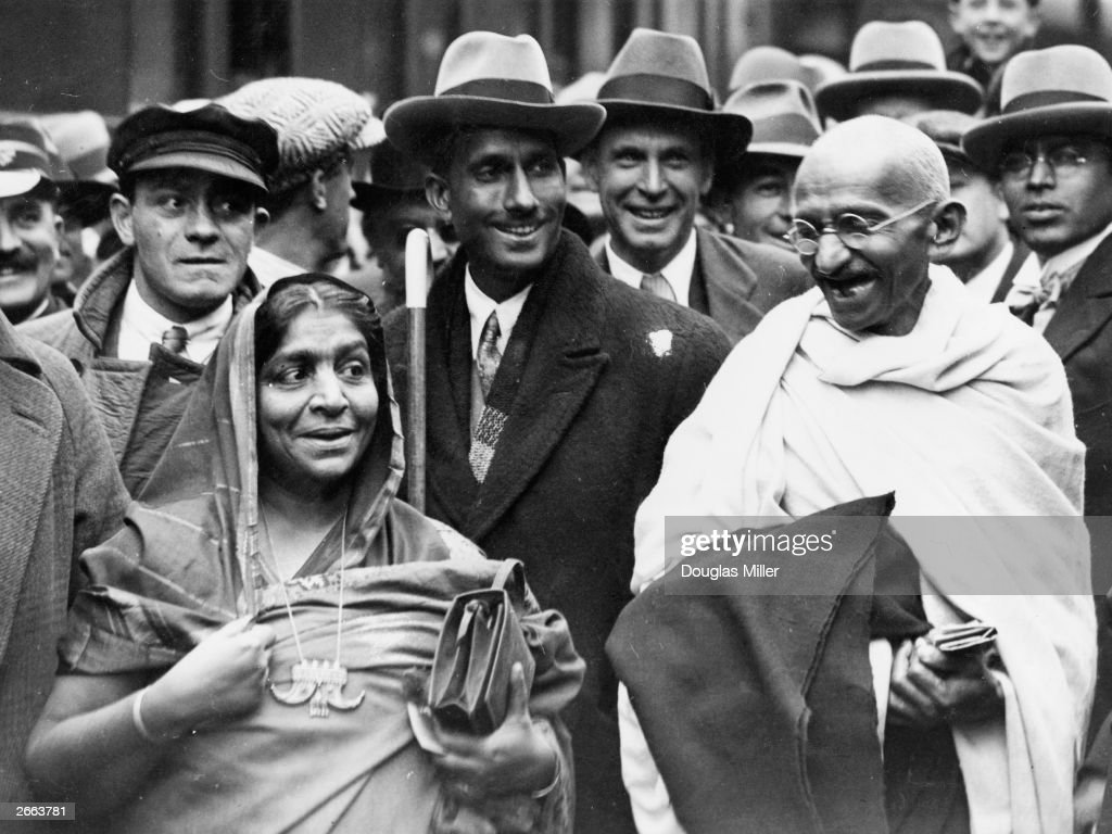 Mohandas Gandhi : News Photo