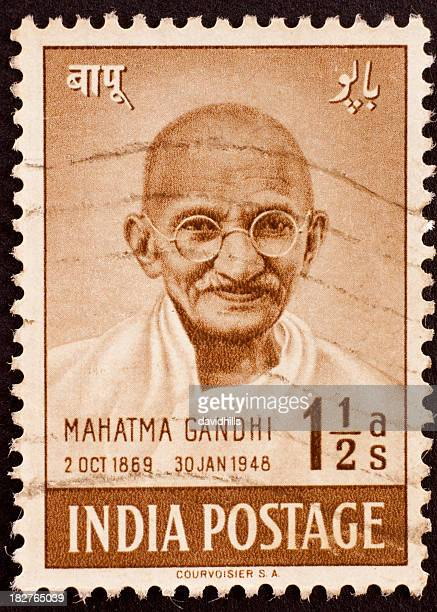 Indian postage stamp of Gandhi