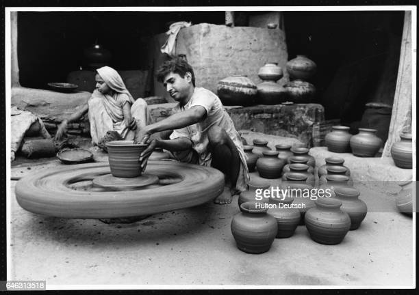 Indian potters 1947