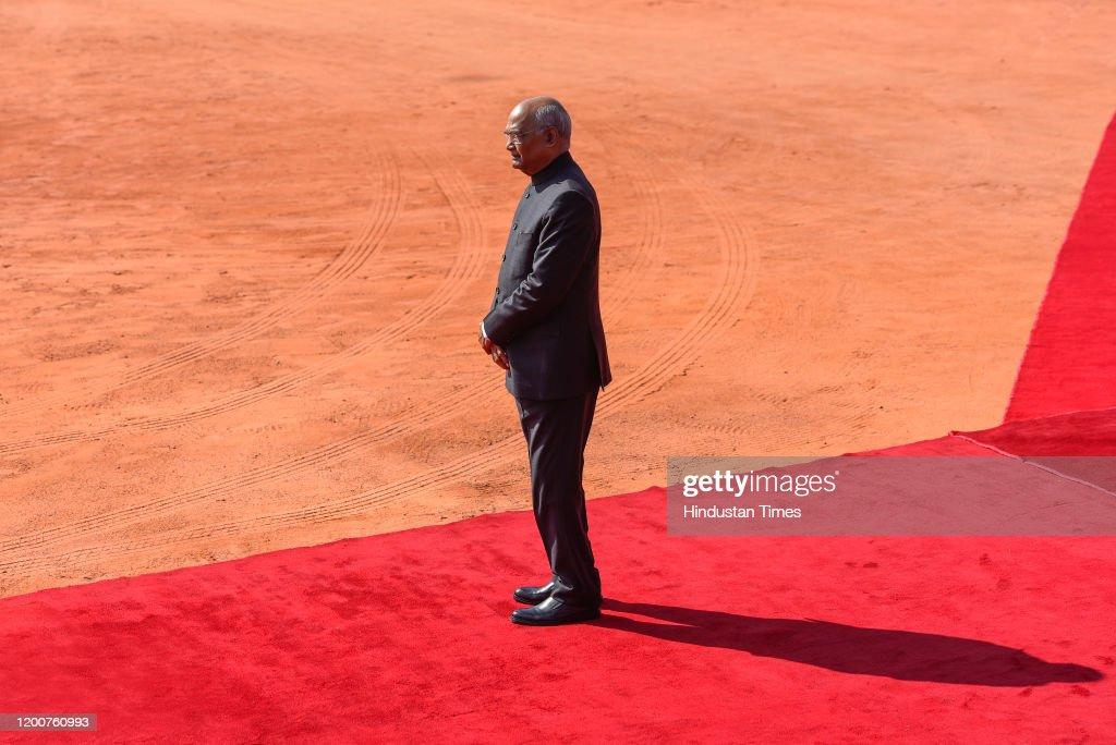 Portuguese President Marcelo Rebelo de Sousa Visits India : News Photo