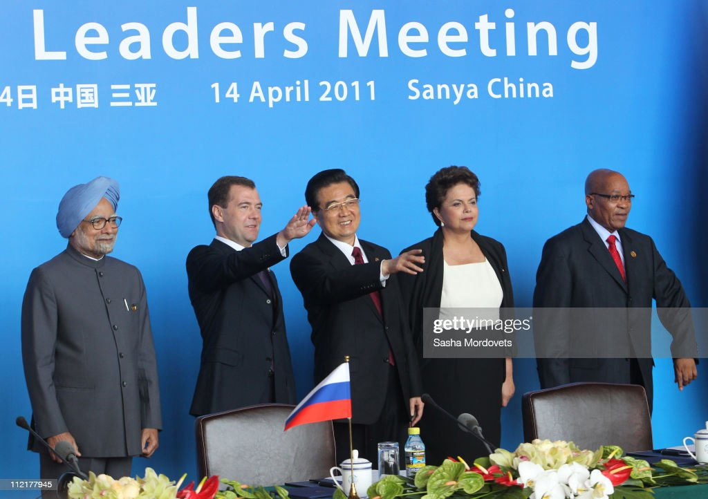 BRIC Leaders Meet For The BRICS Summit