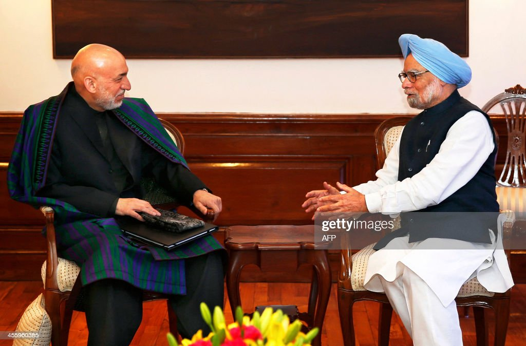 INDIA-AFGHANISTAN-DIPLOMACY : News Photo