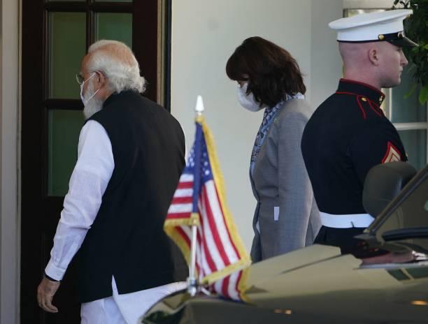 DC: President Biden Holds Bilateral Meeting With Indian Prime Minister Narendra Modi