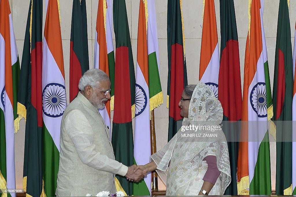 BANGLADESH-INDIA-DIPLOMACY : News Photo