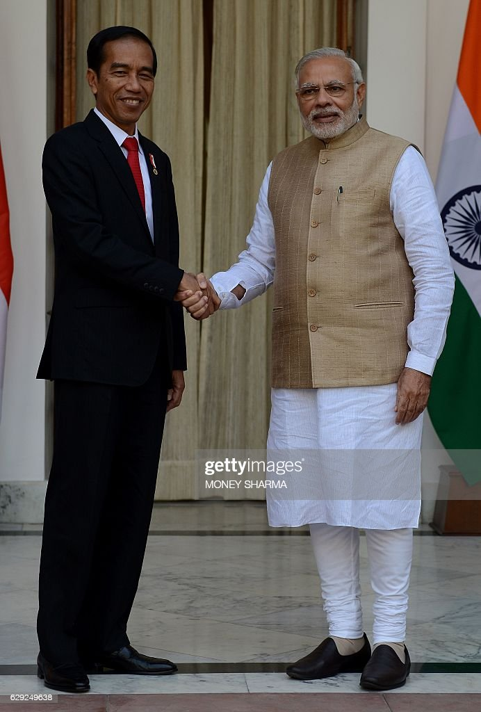 INDIA-INDONESIA-DIPLOMACY : Nachrichtenfoto