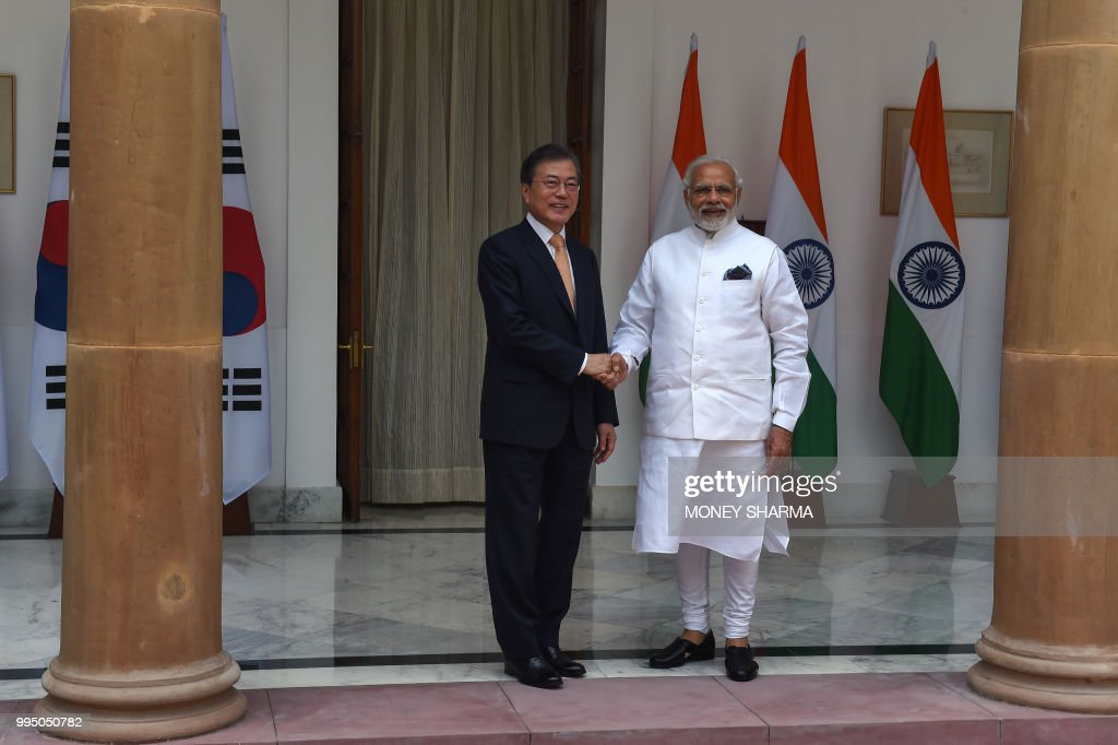 INDIA-SKOREA-DIPLOMACY : News Photo