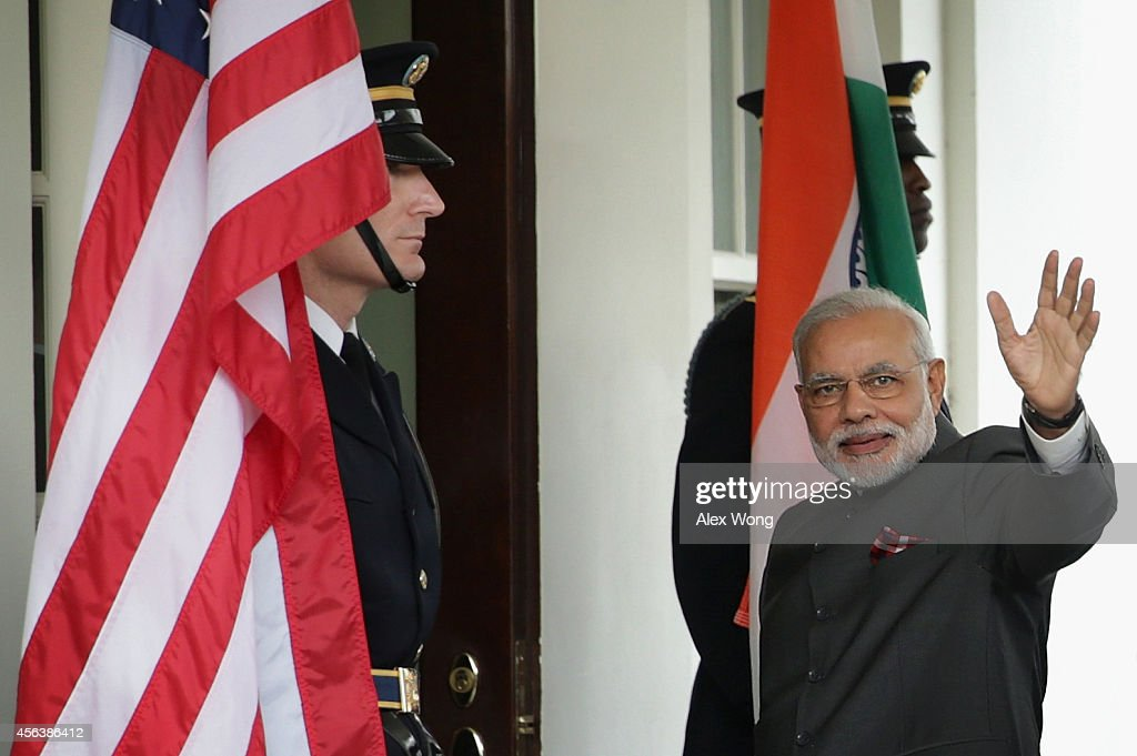 President Obama Meets With Prime Minister Narendra Modi Of India At The White House