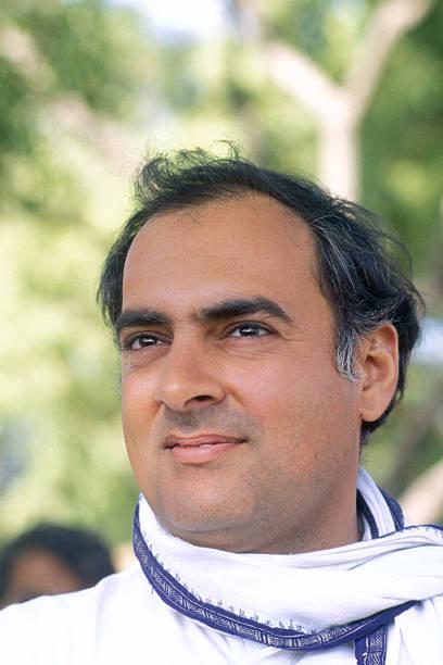 Rajiv gandhi fotos bilder von rajiv gandhi getty images - Prime minister of india office address ...