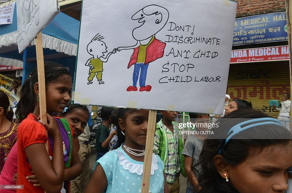 INDIA-POLITICS-RIGHTS-CHILD LABOUR : News Photo