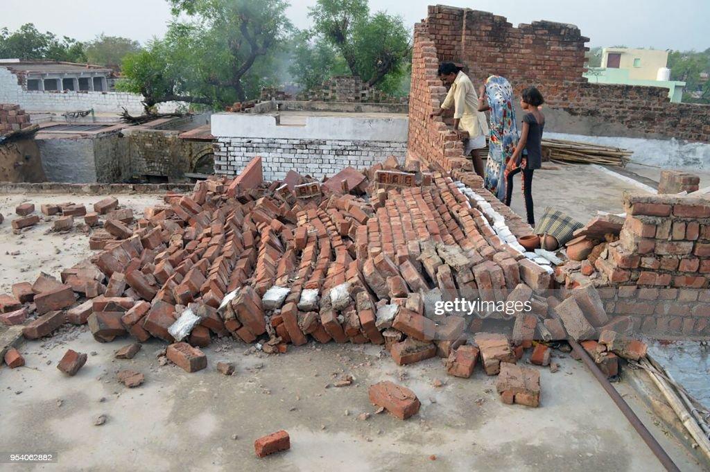 INDIA-ACCIDENT-STORM : News Photo