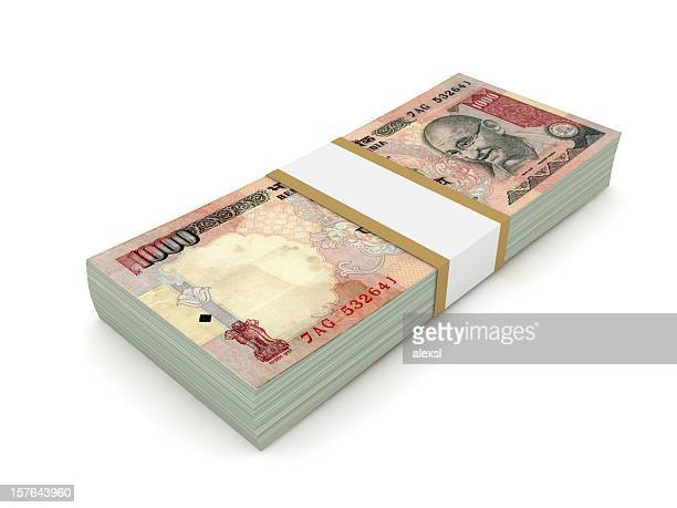 Indian Rupee Stack