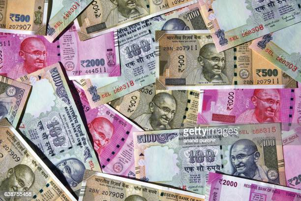 Indian Rupees, New, India