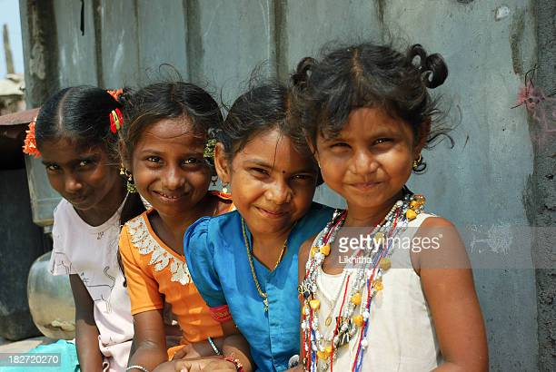 indian rural girls - orphan stock pictures, royalty-free photos & images
