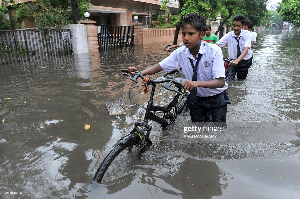 INDIA-WEATHER-MONSOON : News Photo
