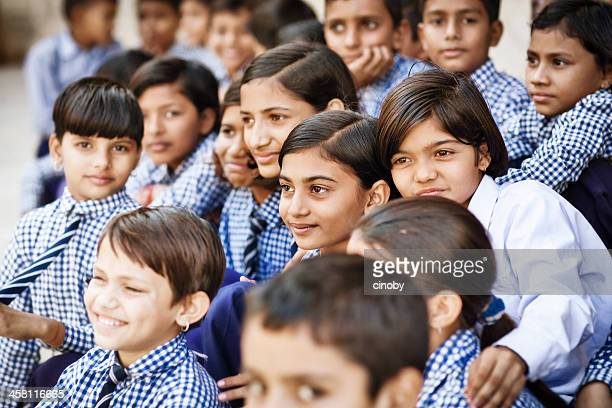 indian school classe - class photo - fotografias e filmes do acervo