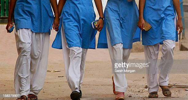 Indian schoolgirls in Jodhpur, Rajasthan, India
