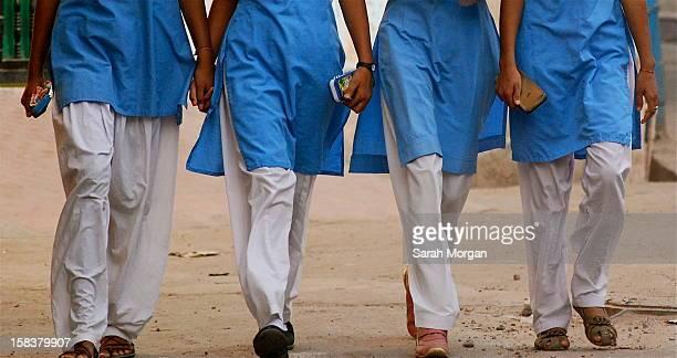 Indian schoolgirls in Jodhpur, Rajasthan, India