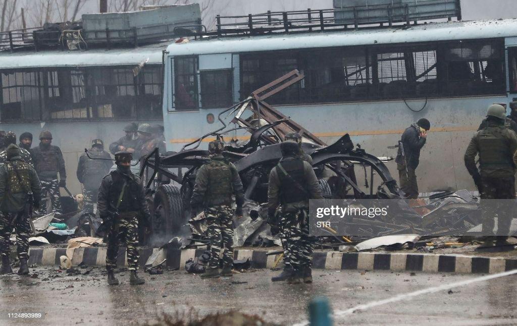 INDIA-PAKISTAN-UNREST-KASHMIR : News Photo