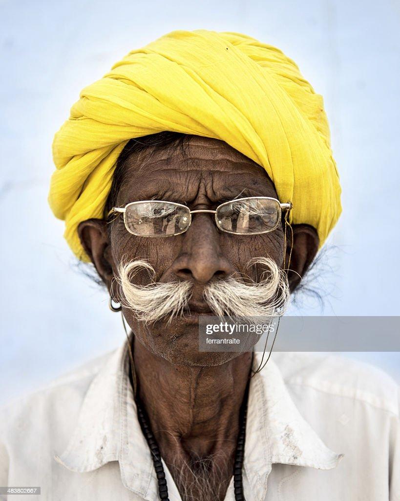 Indian Senior Man : Stock Photo
