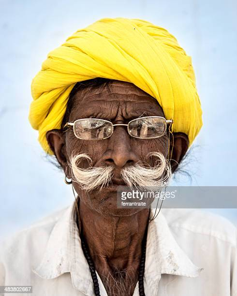 Indian Senior Mann