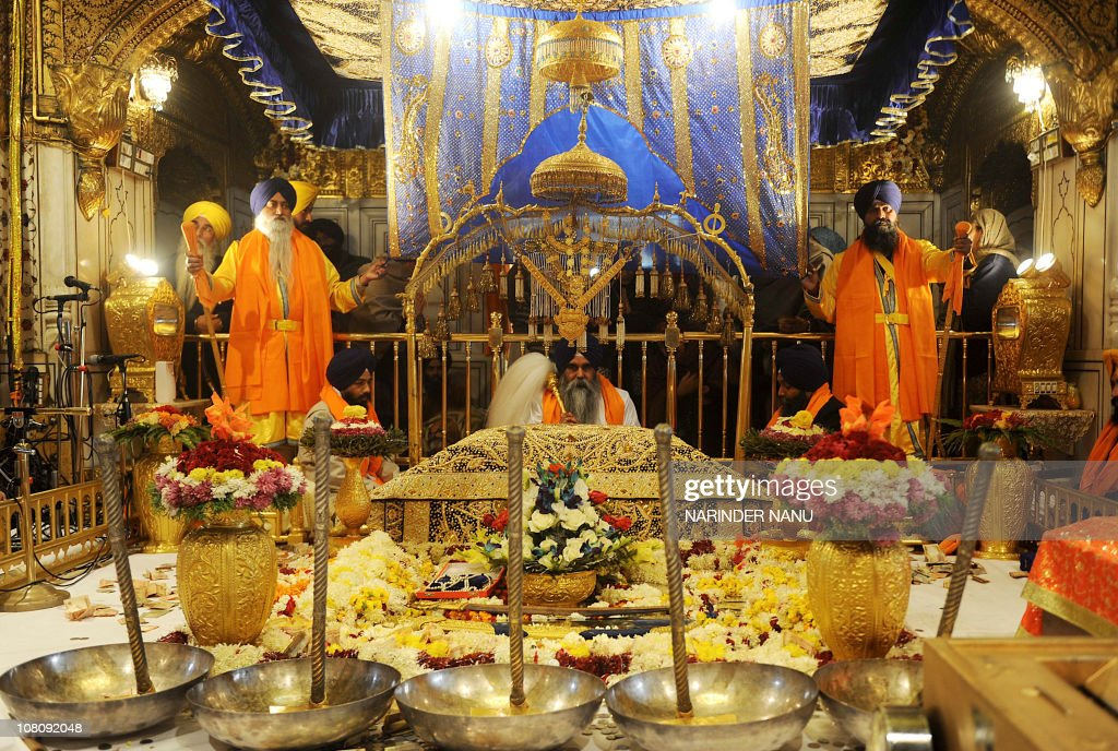Indian Sikh head priest Jaswinder Singh : News Photo