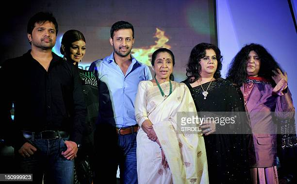 Indian singer and performer Himesh Reshmmiya Indian actress Ayesha Takia Pakistani pop singer Atif Aslam Indian playback singer Asha Bhosle...