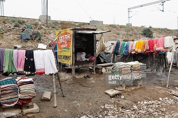 Indian slum dwellers