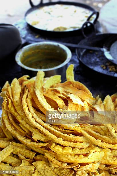 indian snacks phapada - gujarat stock pictures, royalty-free photos & images